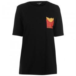 Dámske voĺnočasové tričko Golddigga H5024
