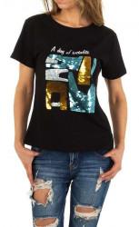 Dámske voĺnočasové tričko Q5144