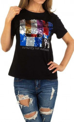 Dámske voĺnočasové tričko Q5145