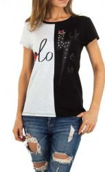Dámske voĺnočasové tričko Q5146