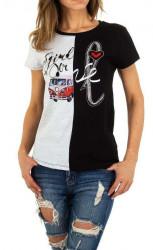 Dámske voĺnočasové tričko Q5147