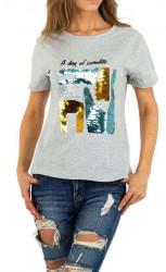 Dámske voĺnočasové tričko Q5148