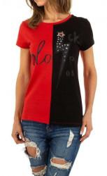 Dámske voĺnočasové tričko Q5149