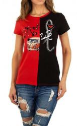 Dámske voĺnočasové tričko Q5150