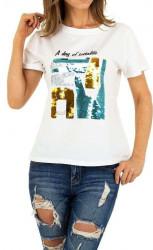 Dámske voĺnočasové tričko Q5154