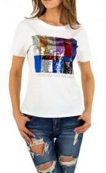 Dámske voĺnočasové tričko Q5155