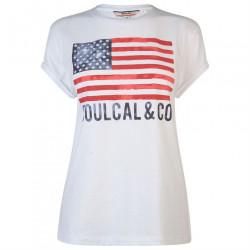 Dámske voĺnočasové tričko SoulCal J4326