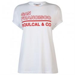 Dámske voĺnočasové tričko SoulCal J4333