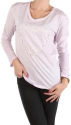 Dámske voĺnočasové tričko W1502