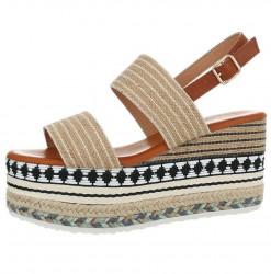 Dámske vysoké sandále Q4182