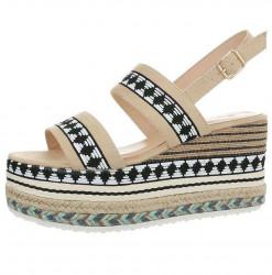 Dámske vysoké sandále Q4183