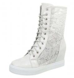 Dámske vysoké topánky Q2692
