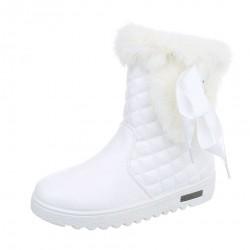 Dámske vysoké zimné topánky Q0115
