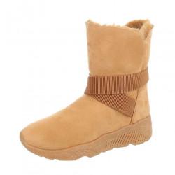 Dámske vysoké zimné topánky Q0202