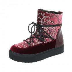 Dámske vysoké zimné topánky Q0233