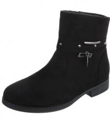Dámske vysoké zimné topánky Q0260