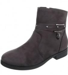 Dámske vysoké zimné topánky Q0261