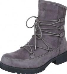 Dámske vysoké zimné topánky Q0264