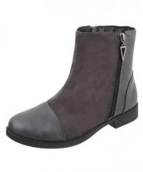Dámske vysoké zimné topánky Q0268