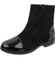Dámske vysoké zimné topánky Q0271
