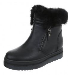 Dámske vysoké zimné topánky Q2983