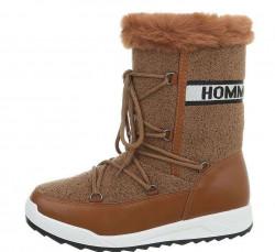 Dámske vysoké zimné topánky Q3757