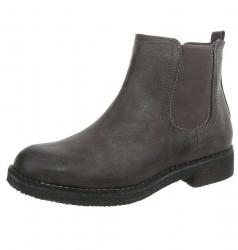 Dámske vyššie topánky Q2694