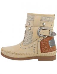 Dámske westernové členkové topánky I2115