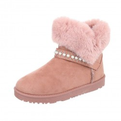 Dámske zimné topánky s kožušinou Q0192