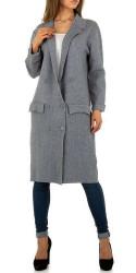 Dámsky dlhý kabát Q5801