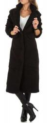 Dámsky dlhý kabát Q6497
