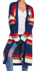 Dámsky dlhý pulóver N1276