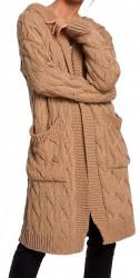Dámsky dlhý pulóver N1279