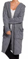 Dámsky dlhý pulóver N1280