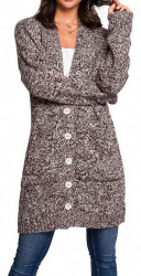 Dámsky dlhý pulóver N1282