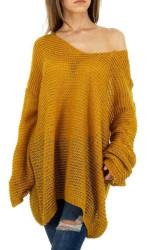 Dámsky dlhý pulóver Q5799