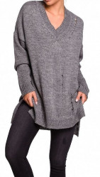 Dámsky fashion pulóver N1387