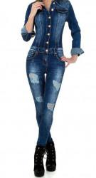 Dámsky jeansový overal Original Denim Q3644