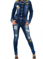 Dámsky jeansový overal Original Denim Q4875