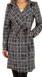 Dámsky módny kabát Voyelles Q4517
