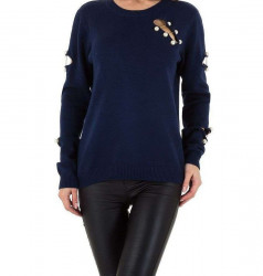 Dámsky módny pulóver Voyelles Q3822