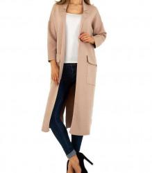 Dámsky predĺžený kabát JCL Q4994
