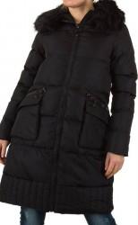 Dámsky predĺžený zimný kabát Artru Fashion Q0041