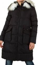 Dámsky predĺžený zimný kabát Artru Fashion Q0042