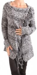 Dámsky šedý cardigan Eight2Nine W1076
