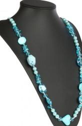 Dámsky štýlový náhrdelník Q0676