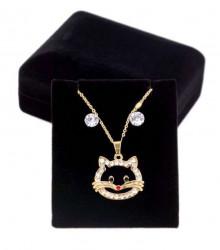 Dámsky štýlový náhrdelník Q6769