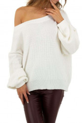 Dámsky štýlový pulóver Q7034