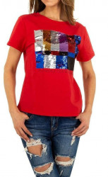 Dánske štýlové tričko Q5151