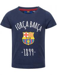 Detské bavlnené tričko FC Barcelona D7790